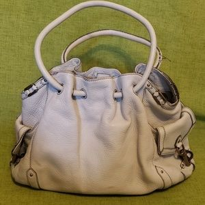 Cole Haan White Leather Purse